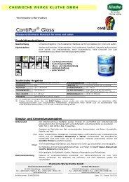 ContiPur Gloss - Conti® Coatings