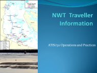 ATIS/511 Operations and Practices