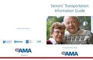 Seniors' Transportation Information Guide - Alberta Motor Association
