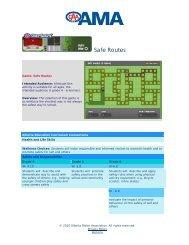 Safe Routes - Alberta Motor Association