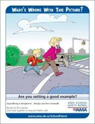 Always use the crosswalk