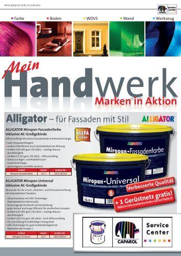 Handwerk Marken in Aktion - Farben Brunner