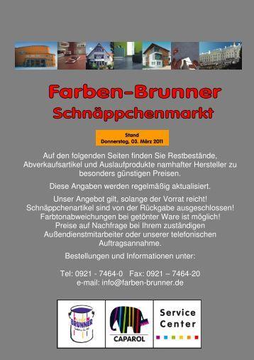PIGROL Edelwachs - Farben Brunner