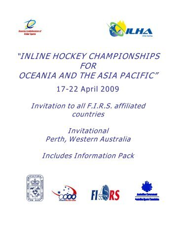 inline hockey championships for oceania and the asia pacific