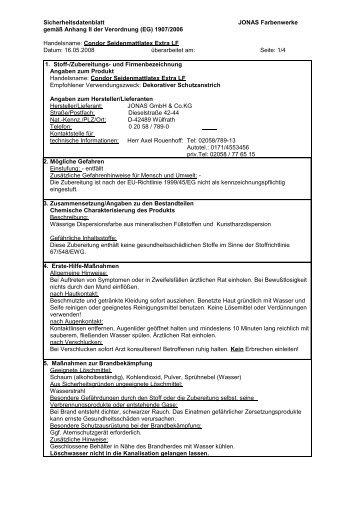 SDB - NITSCHE FARBEN GmbH