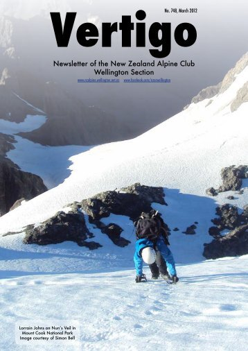 March 2012 - New Zealand Alpine Club