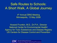 A Short Walk, A Global Journey - National Center for Safe Routes to ...