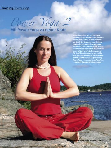 Power Yoga 2 - Sandra Cammann