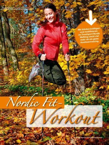 Training Nordic Workout - Sandra Cammann