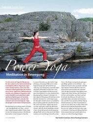 Power Yoga - Sandra Cammann