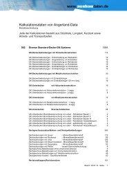 002 Diverse Standard-Decke-GK-Systeme - Ausbaudaten.de