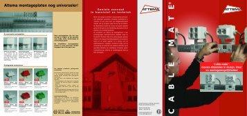 CABLE-MA TE ® Geniale eenvoud In kunststof en ... - Imagro Groep