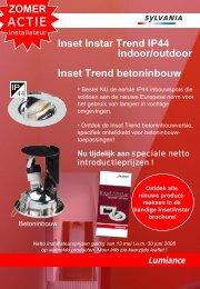 Inset Instar Trend IP44 indoor/outdoor Inset Trend ... - Imagro Groep