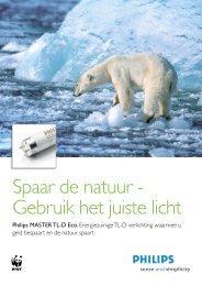Spaar de natuur - Gebruik het juiste licht - Imagro Groep