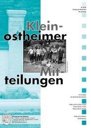 Ausgabe 32-33 2013.pdf - Kleinostheim