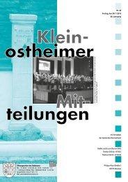 Amtsblatt Nr. 48 vom 29.11.2013 - Kleinostheim
