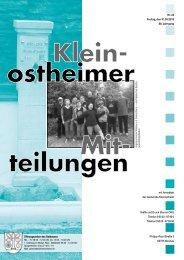 Amtsblatt Nr. 22 vom 31.05.2013 - Kleinostheim