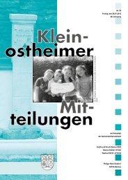Ausgabe 30 2013.pdf - Kleinostheim