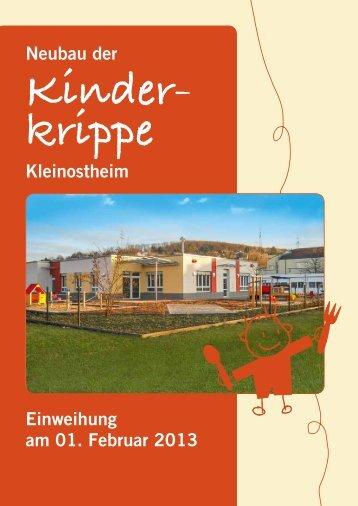 Neubau der Kinderkrippe - Kleinostheim