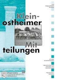 Ausgabe 34 2013.pdf - Kleinostheim