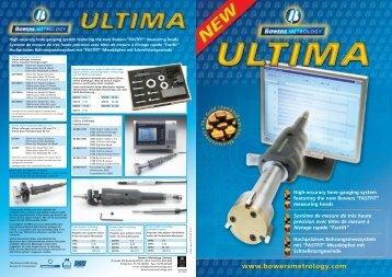 Ultima 4pp Leaflet - Bowers UK