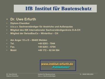 Gesundheit mit Innenraumfarben - Institut-erfurth.de