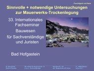 Trockenlegung - Untersuchungen - Verfahren - Institut-erfurth.de