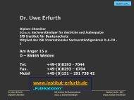 Saubere Luft innen und außen (ZDF) - Institut-erfurth.de