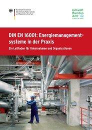 DIN EN 16001: Energiemanagement systeme in der Praxis