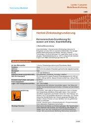 Herbol-Zinkstaubgrundierung