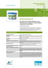 Herbol Zenit-Grund