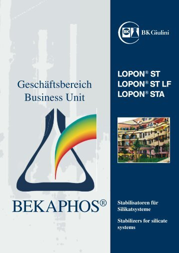 Lopon® ST LF - ALPHA Maroussis