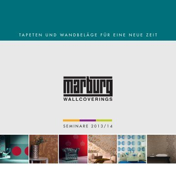 3 free magazines from marburg com for Neue tapeten