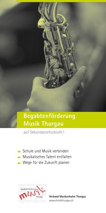 Begabtenförderung Flyer [PDF, 640 KB] - Schulen Aadorf