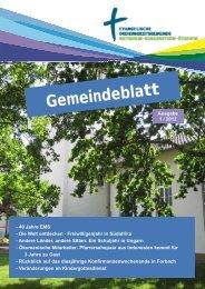 Gemeindeblatt Ausgabe 1/2012 - Ev.Kirche Home