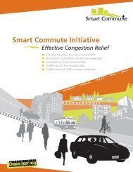 Smart Commute Initiative - Effective Congestion Relief