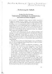 Page 1 > Zivilisierung des Fußballs Norbert Elias/Eric Dunning ...