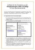 Studienleitfaden - Institut für Sportwissenschaft - Page 5