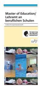 Studieninformationsflyer Master Of Education - Institut für ... - Page 4