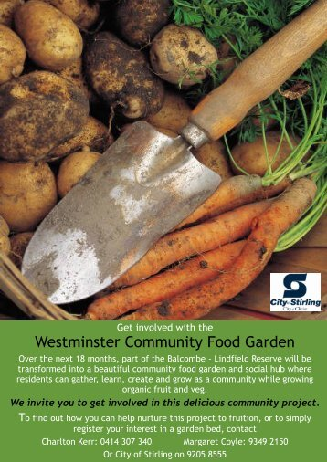 Westminster Community Food Garden - City of Stirling