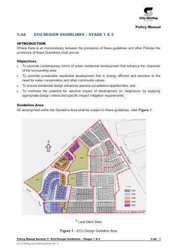 3.4a ecu design guidelines – stage 1 and 2 - City of Stirling