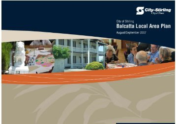 Balcatta Stirling Local Area Plan - City of Stirling