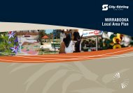 MIRRABOOKA Local Area Plan - City of Stirling