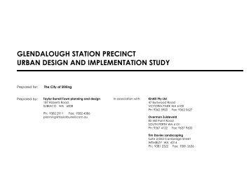 Glendalough Station Precinct Urban Design and ... - City of Stirling