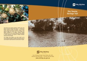 Star Swamp Heritage Trail - City of Stirling
