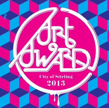 Art Award Flyer and Entry Form - City of Stirling