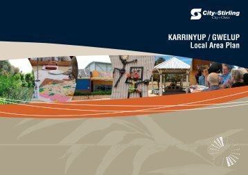 KARRINYUP / GWELUP Local Area Plan - City of Stirling