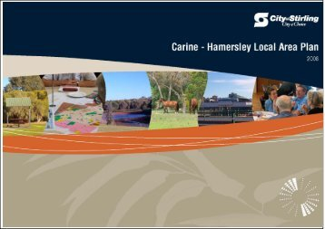 Carine – Hamersley Local Area Plan Outcomes Table - City of Stirling