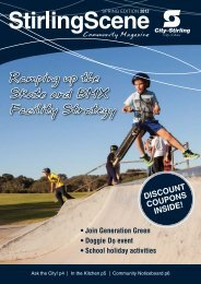 Ramping up the Skate and BMX Facility Strategy - City of Stirling