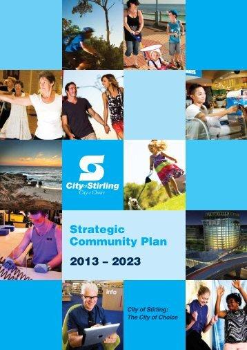 Strategic Community Plan 2013 – 2023 - City of Stirling